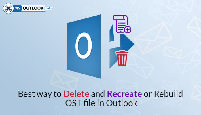delete ost file and rebuild ost file
