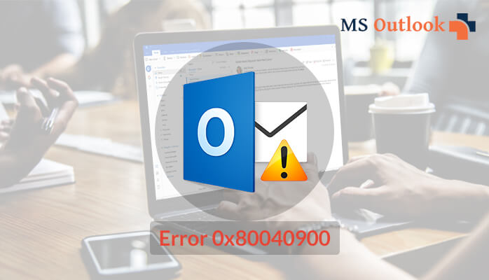 outlook send/receive error 0x80040900