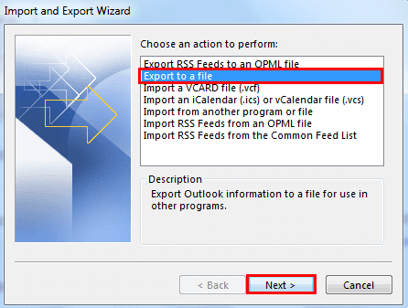 saving outlook emails in csv