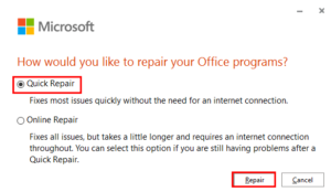 outlook 365 cannot connect to server