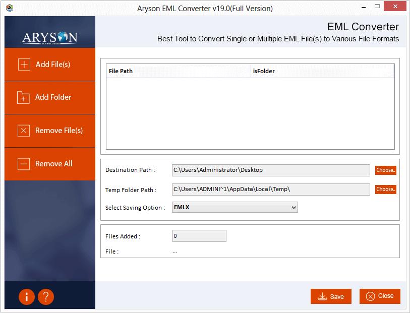 Windows 7 EML Converter Software 21.1 full