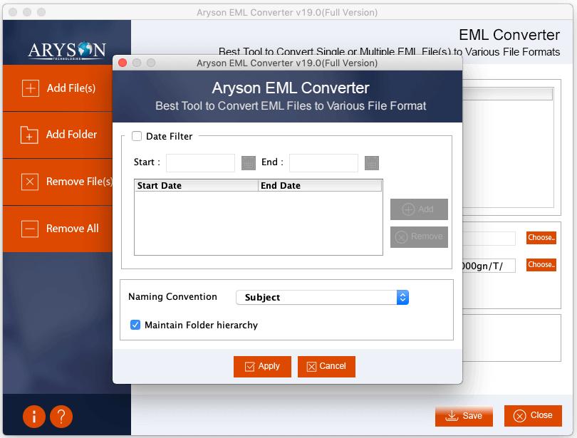Export EML File