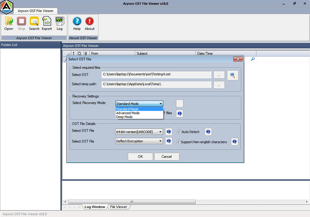 free ost file viewer tool