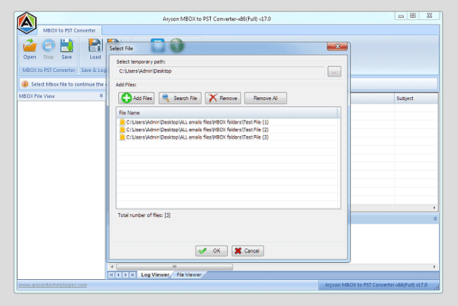 Windows 7 MBOX to PST Converter Full Version 17.0 full
