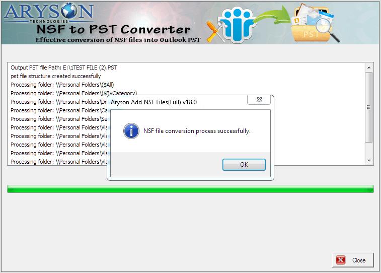 convert nsf to pst