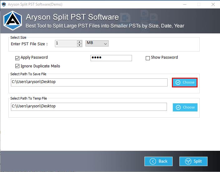 pst file splitter