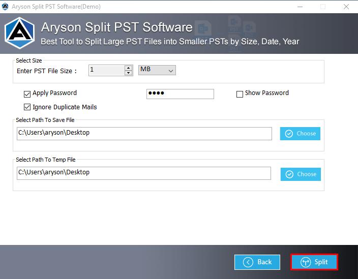 split pst file